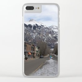 Downtown Telluride, Colorado Clear iPhone Case