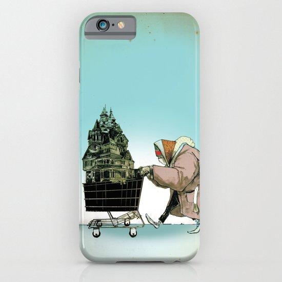 "Glue Network Print Series ""Homelessness"" iPhone & iPod Case"