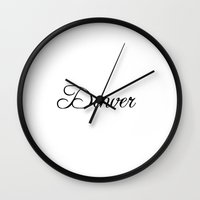denver Wall Clocks featuring Denver by Blocks & Boroughs