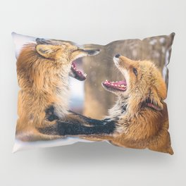 Foxes Pillow Sham
