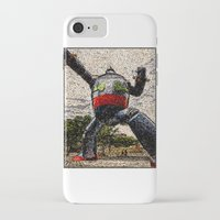 kobe iPhone & iPod Cases featuring Guardian of Kobe By Eku Zhong by SLUniverse
