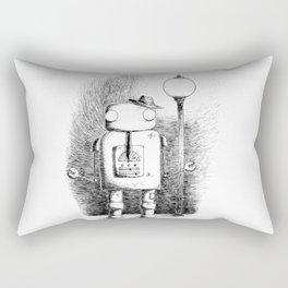 Hobo Robot Rectangular Pillow
