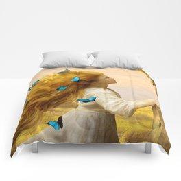 Unfurling Glory Comforters