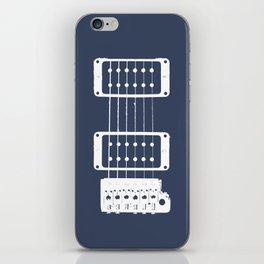 Double Cut Guitar iPhone Skin