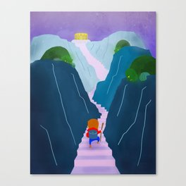 The Climb Canvas Print