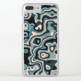Liquid Neptune Clear iPhone Case