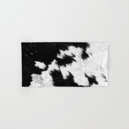 Cowhide Hand & Bath Towel