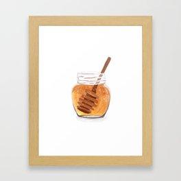 Honey Pot Painting Framed Art Print