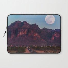 Super Blue Moon over Arizona #society6 #decor #buyart Laptop Sleeve