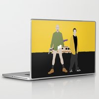 breaking bad Laptop & iPad Skins featuring Breaking Bad by Bill Pyle