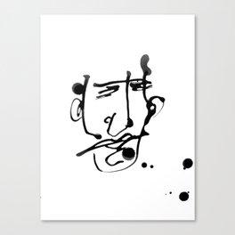 FACES / 018 Canvas Print