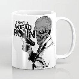 Black Mask: I Smell A Dead Robin Coffee Mug