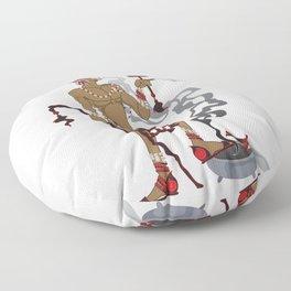Eleggua Floor Pillow