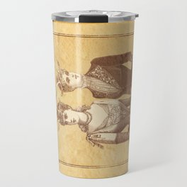 Sisters Emmaline And Cornelia Always Wore The Biggest Hats Travel Mug