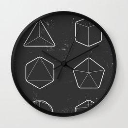 Geometry of Life Wall Clock