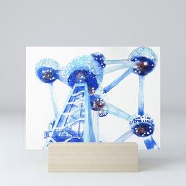 Atomium II Mini Art Print