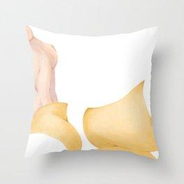 anti-prohibition love story Throw Pillow