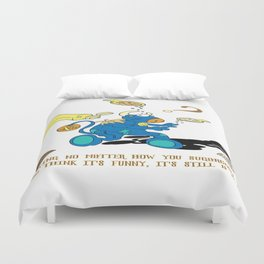 Sugarcoated Bullying Duvet Cover