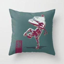 Capoeira 367 Throw Pillow