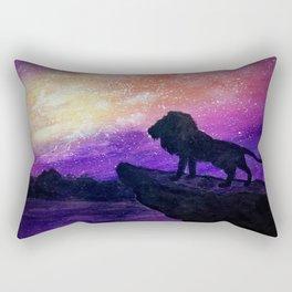 The Mighty Lion Rectangular Pillow