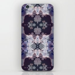 Big Fat Purple Pattern iPhone Skin