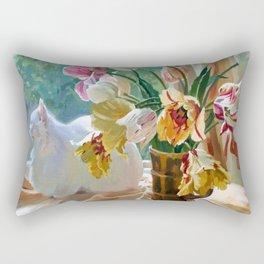 Tulips Rectangular Pillow