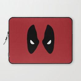 Deadpool Mask Laptop Sleeve