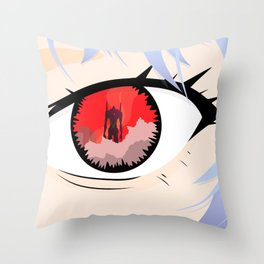 First Child Throw Pillow