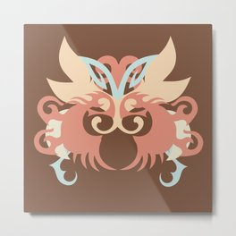 Abstraction Five Tlaloc Metal Print