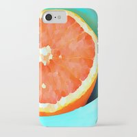 aelwen iPhone & iPod Cases featuring Grapefast by Xchange Art Studio
