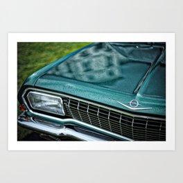 Leica Opel Art Print