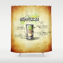 Hiroshima Shower Curtain
