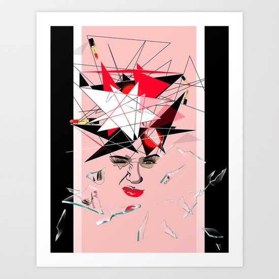In My Eyes Art Print