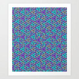 Delta Wave Art Print