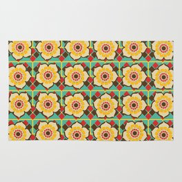 Floral pattern Rug