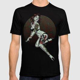 Zombie Pin-Up T-shirt