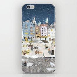 Bielsko Biala Street view iPhone Skin