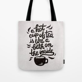 Hot Tea Tote Bag