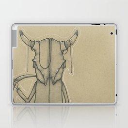Bull Skull Guy Spirit Animal Laptop & iPad Skin