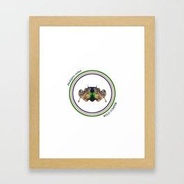 Bold Jumper Framed Art Print