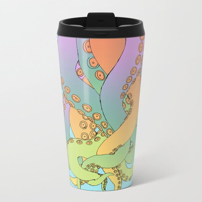 octo Metal Travel Mug