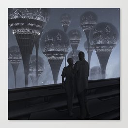 domes in the sky Canvas Print