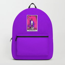 1. The Magician- Neon Dreams Tarot Backpack