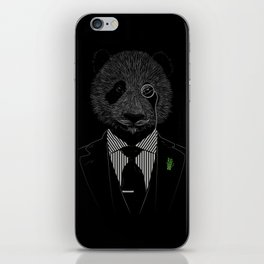 Sir Panda iPhone Skin