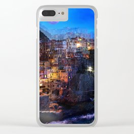 Dream Holidays Clear iPhone Case