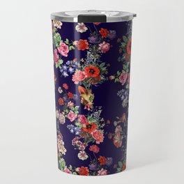 Botanical Pattern Travel Mug