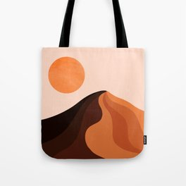 Abstraction_SUN_MOUNTAINS_Bohemian_Minimalism_002 Tote Bag