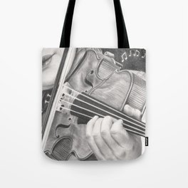 The Note Waltz Tote Bag