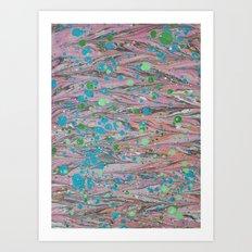 Marble Print #40 Art Print
