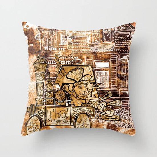 The Train Throw Pillow
